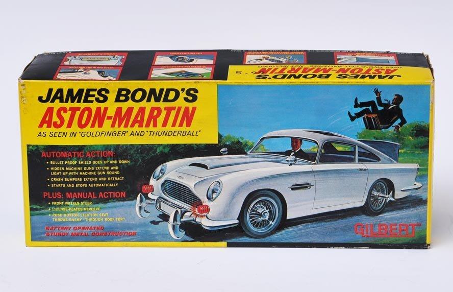 James Bond's Aston Martin Toy Car
