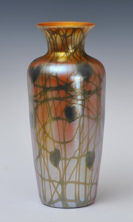 Quezal Art Glass Vase