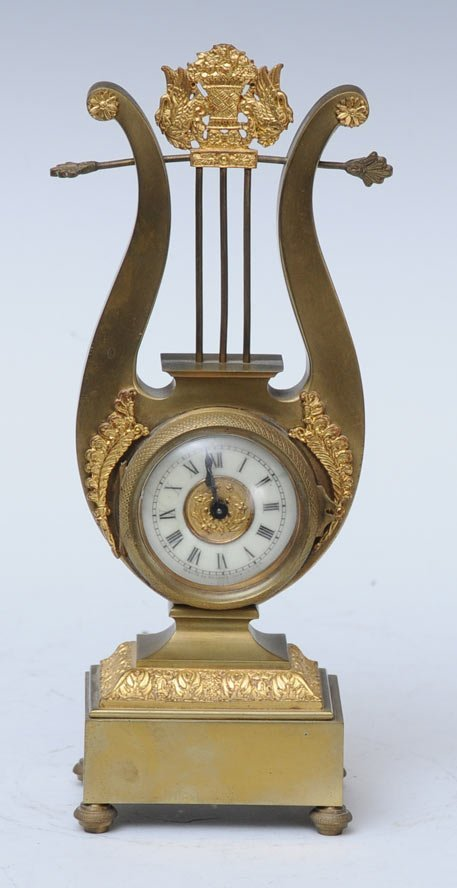 Ansonia Brass Novelty Clock