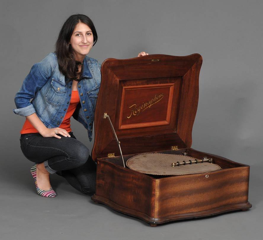 Regina Disc Music Box