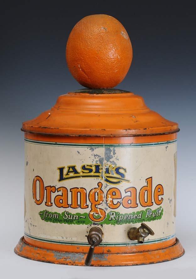 Lash's Orangeade Dispenser