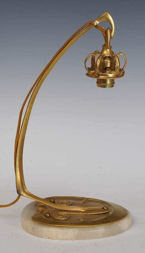 Austrian Art Nouveau Table Lamp