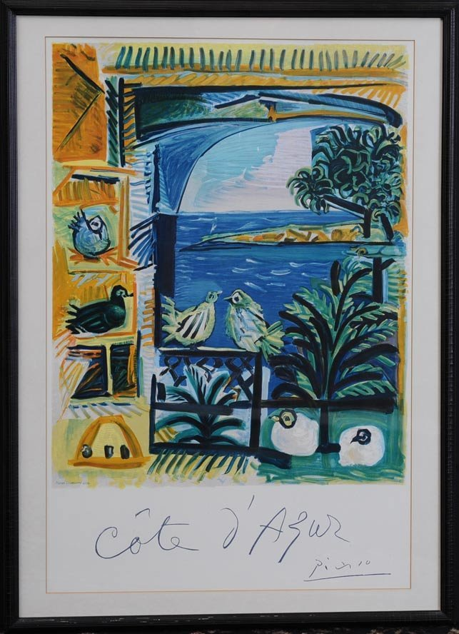 Pablo Picasso Travel Poster