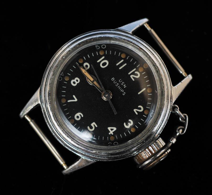 "Hamilton U.S. Navy Buships ""Canteen"" Diver's Watch"