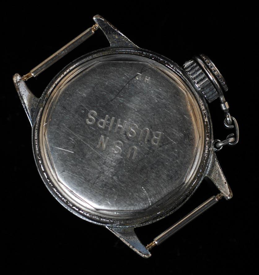 "Hamilton U.S. Navy Buships ""Canteen"" Diver's Watch - 2"