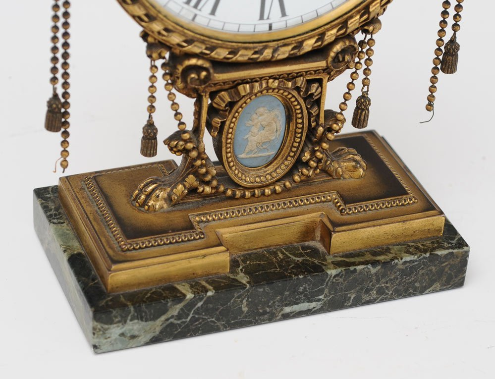 Edward F. Caldwell & Co. Bronze Mantel Clock - 4