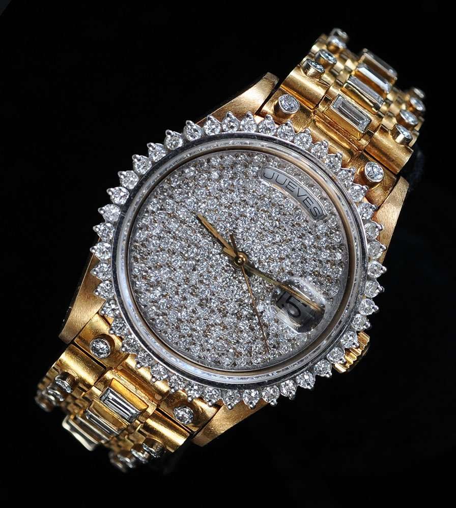 "Rolex 18k ""Super"" Presidential Wrist Watch"