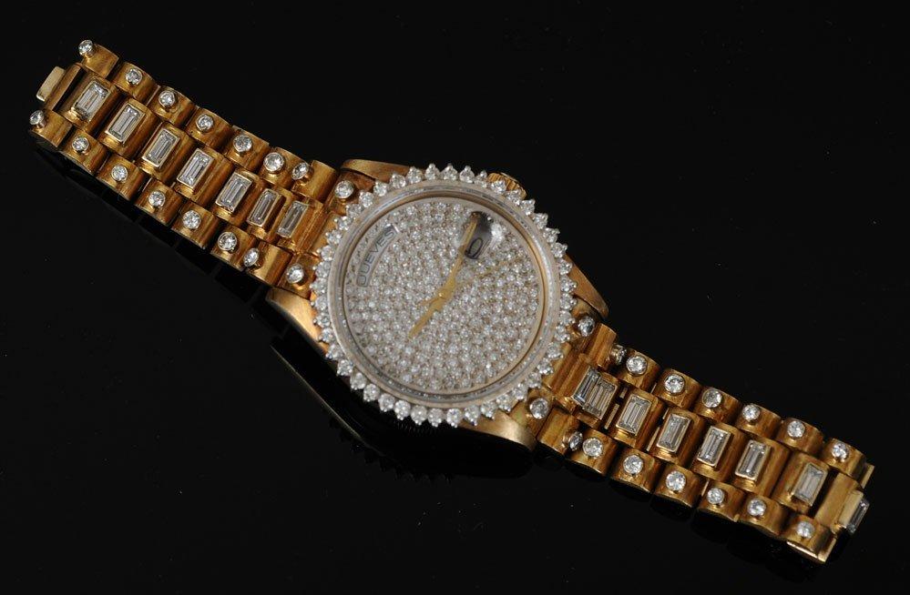 "Rolex 18k ""Super"" Presidential Wrist Watch - 2"