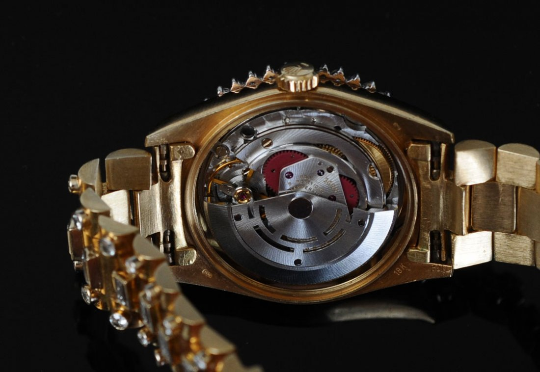 "Rolex 18k ""Super"" Presidential Wrist Watch - 3"