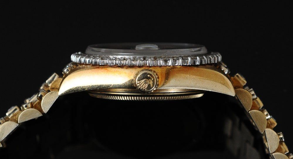 "Rolex 18k ""Super"" Presidential Wrist Watch - 4"