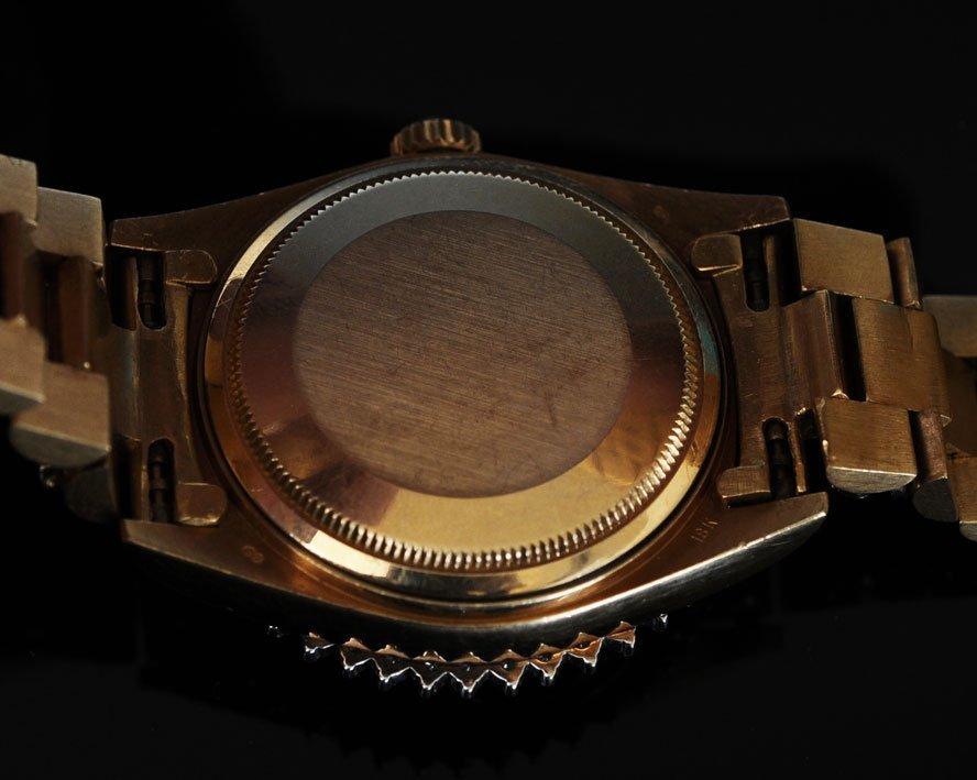 "Rolex 18k ""Super"" Presidential Wrist Watch - 5"