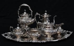 Reed and Barton Sterling Tea Service