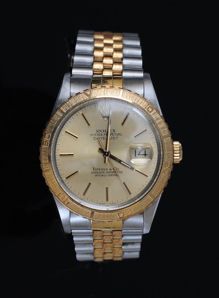Rolex Two Tone Wrist Watch