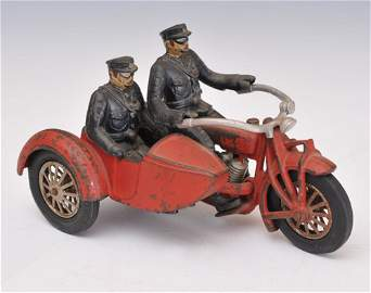 Hubley Cast Iron Indian Motorcycle
