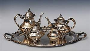 Reed  Barton Sterling Silver Tea Set