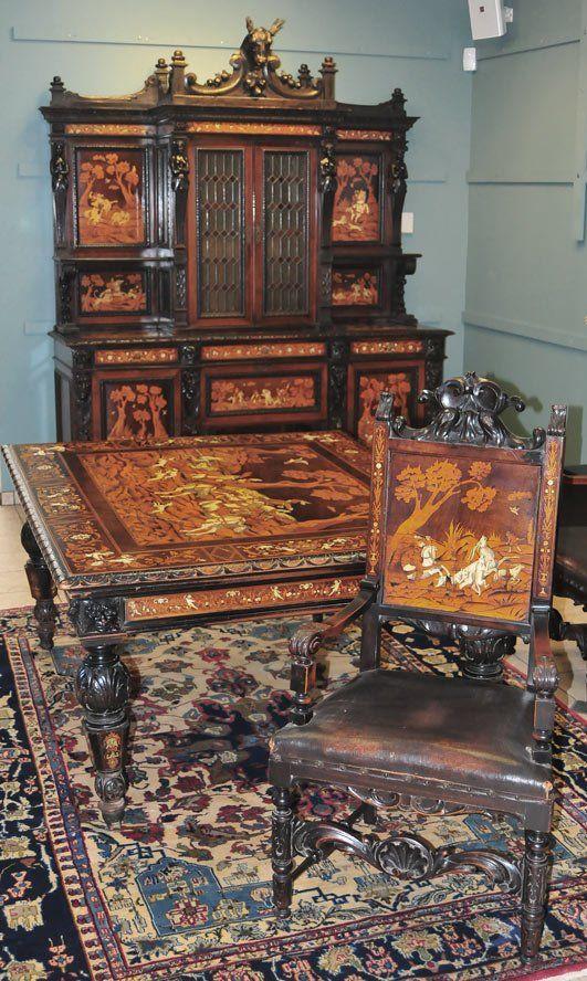 Italian Renaissance Revival Dining Room Set