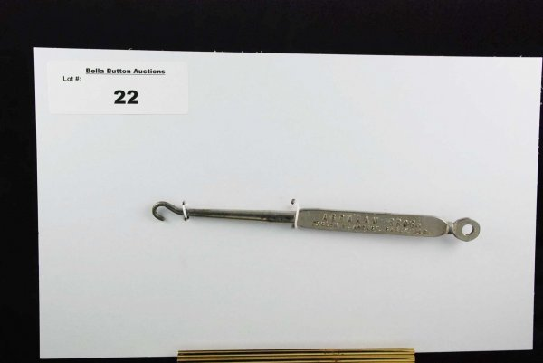 22: Metal Buttonhook