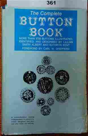 Button Collector Book
