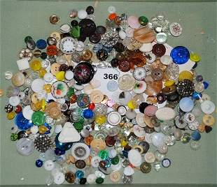 Bag Lot of Assorted Buttons