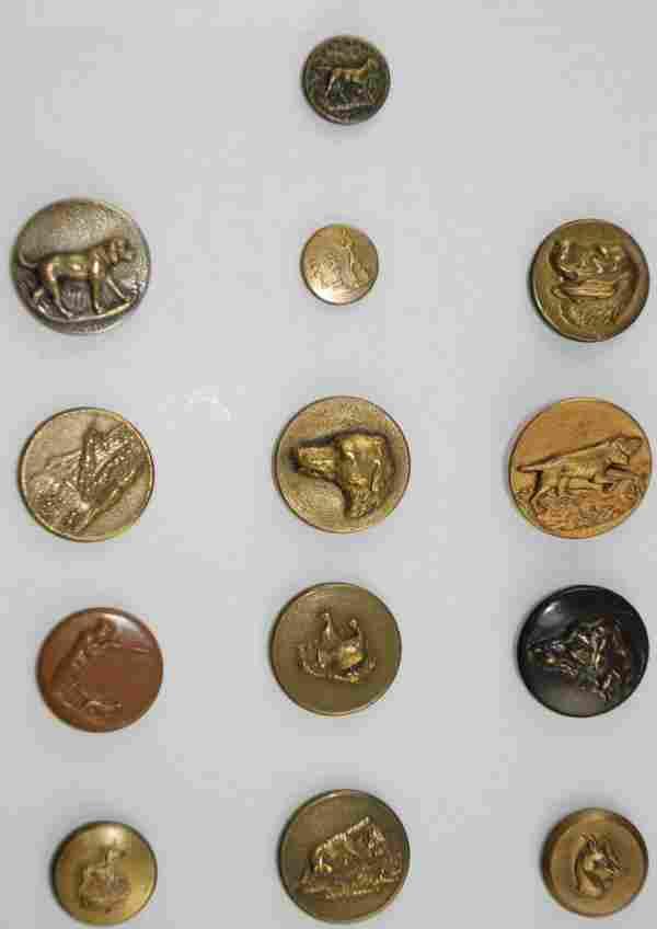 Metal Buttons - Hunt