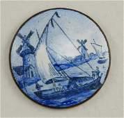 978: Enamel - Delft Blue