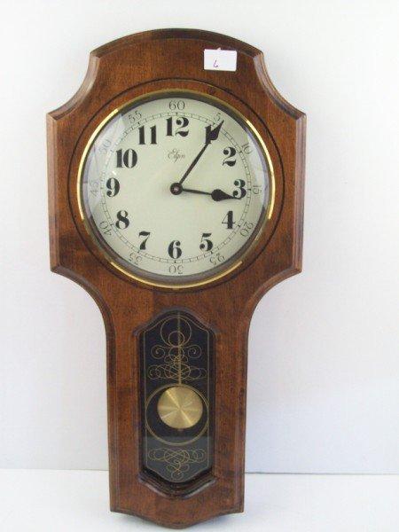 6: ELGIN WALL CLOCK