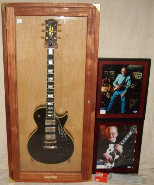 1A: 1957 GIBSON LES PAUL CUTOM GUITAR