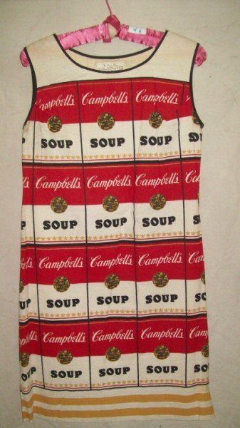 "4A: ANDY WARHOL ""THE SOUPER DRESS"""