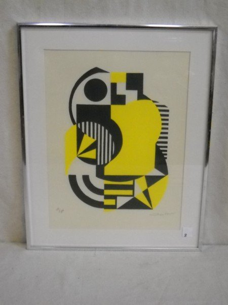 3: ABSTRACT LITHOGRAPH