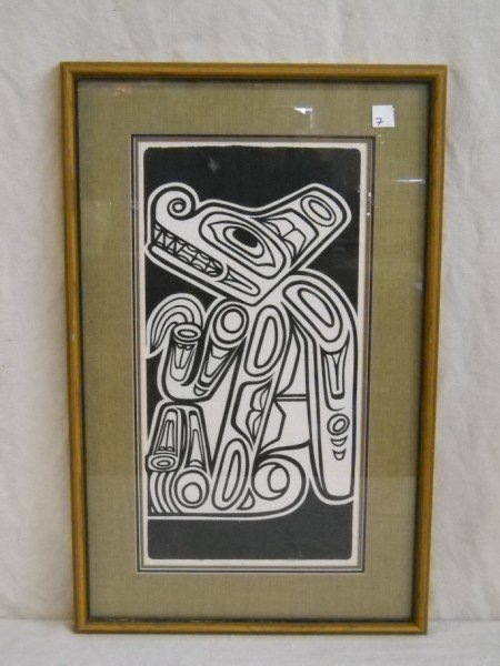 7: WOODBLOCK UNSIGNED
