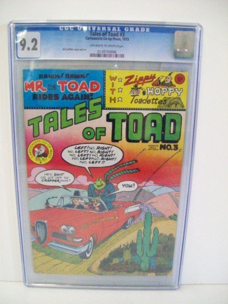 3A: TALES OF TOAD UNDERGROUND COMIC BOOKS