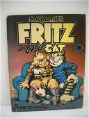 6A R CRUMBS FRITZ THE CAT UNDERGROUND COMIC BOOKS