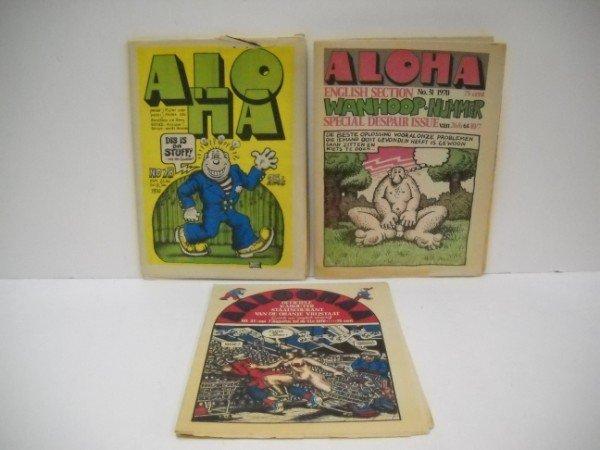 8A: ALOHA COMICS UNDERGROUND COMIC BOOKS