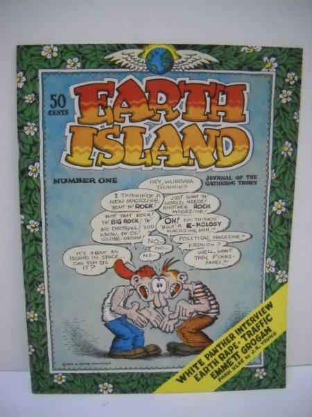 10A: EARTH ISLAND UNDERGROUND COMIC BOOK