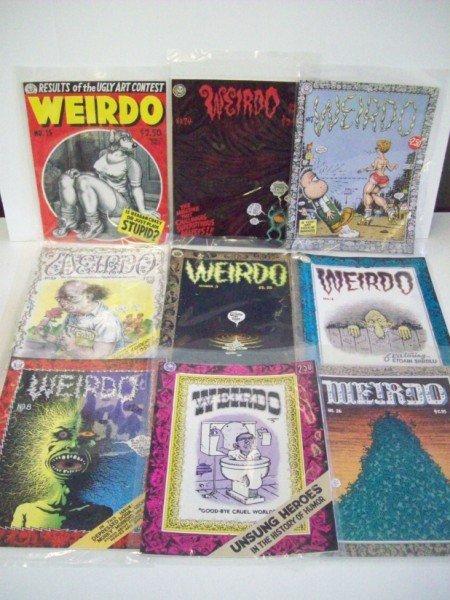 12A: WEIRDO UNDERGROUND COMIC BOOK
