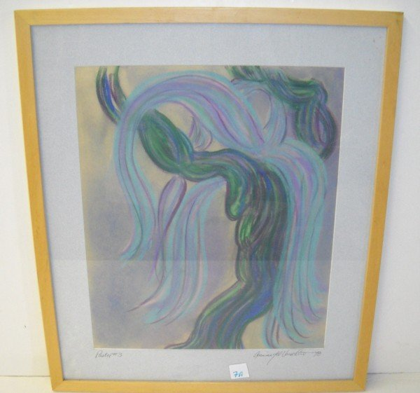 7A: PASTEL SIGNED