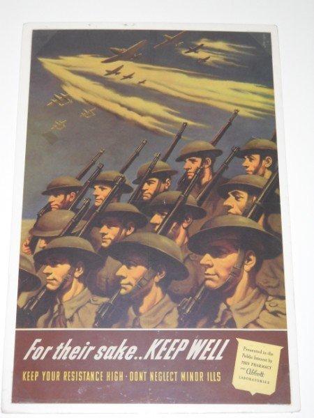 12: WW II POSTER