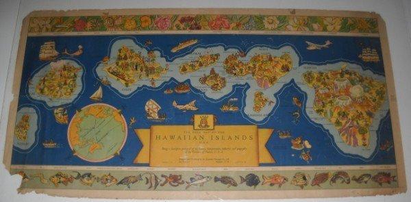 14: HAWAIIAN ISLANDS MAP