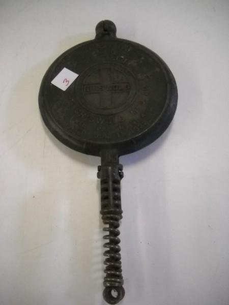 3: GRISWOLD WAFFLE IRON