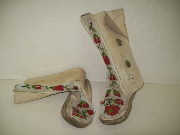 4A: INDIAN BEADED BOOTS