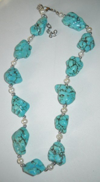 7A: TURQUOISE NECKLACE