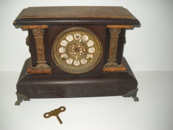 6: MANTLE CLOCK