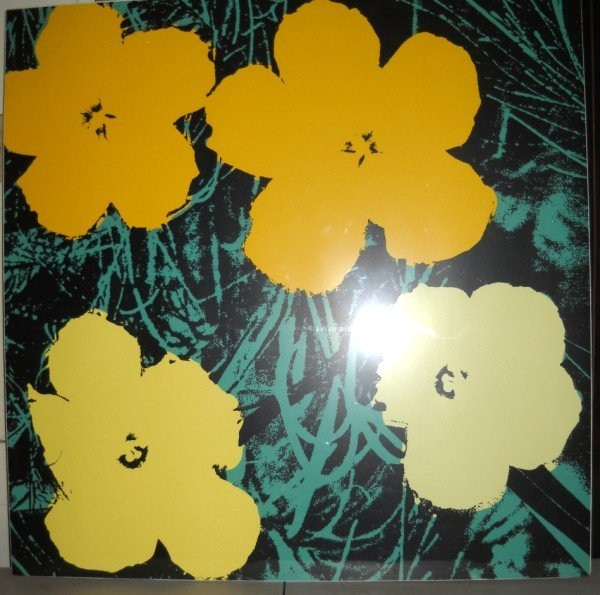8A: ANDY WARHOL SERIGRAPH