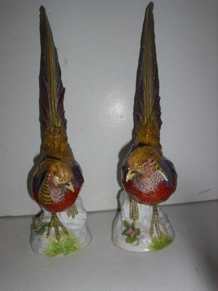 4: MEISSEN BIRDS