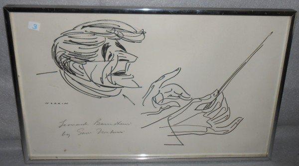 3: PEN & INK DRAWING