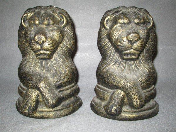 12: LION STATUE