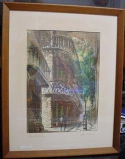 2488510: Old Original Tom Lane New Orleans Watercolor