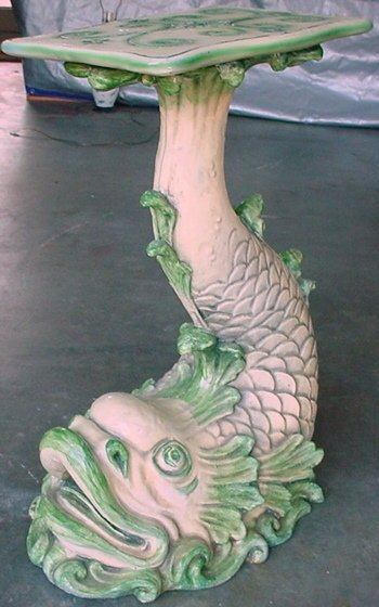 2488518: Vintage Fantasy Furniture Fish Table Stand