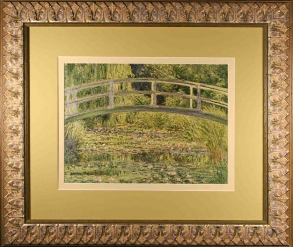 "2494973: Claude Monet, ""Water-Lily Pond"" - Impression"