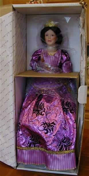 Queen Morgan Le Fay Doll - Danbury Mint